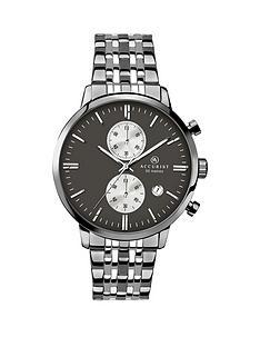 accurist-vintage-chronograph-gun-metal-bracelet-gents-watch