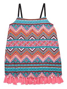 v-by-very-girls-tassel-trim-cami-top