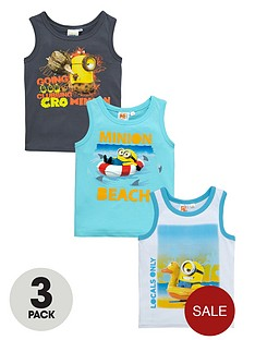 minions-boys-vest-tops-3-pack