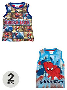 spiderman-boys-printed-vests-2-pack