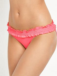 v-by-very-essentials-frill-shirred-band-bikini-briefnbsp