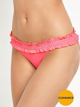 v-by-very-essentials-frill-shirred-band-bikini-briefnbsp