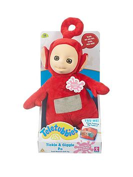 Teletubbies 10 Inch Tickle &Amp Giggle Soft Toy Po