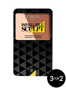 loreal-paris-l039oreal-paris-infallible-sculpt-contour-palette-lightmedium-10g