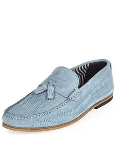 river-island-mens-slim-woven-loafer-light-blue