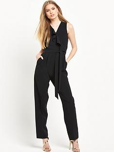 miss-selfridge-ruffle-front-jumpsuitnbsp