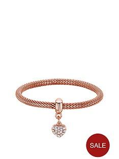 buckley-london-rose-gold-tone-sparkle-mesh-bracelet