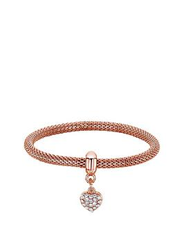buckley-london-rose-gold-tone-sparkle-mesh-bracelet