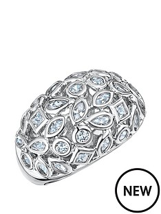 buckley-london-buckley-london-rhodium-plated-mixed-shape-cubic-zirconia-ring