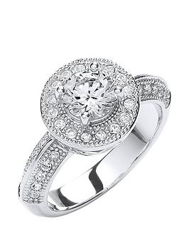 buckley-london-rhodium-plated-clear-cubic-zirconia-and-glass-vintage-button-ring