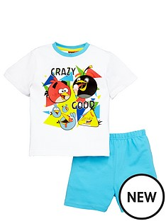 character-otb-angry-birds-boys-crazy-good-shorty-pyjamas