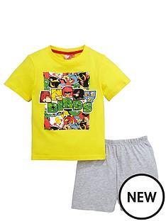 character-otb-angry-birds-multi-print-angry-pyjamas