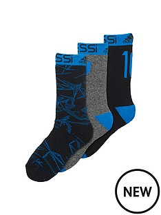 adidas-adidas-messi-junior-3pack-socks