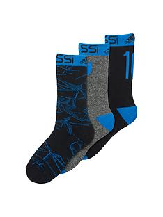 adidas-messi-junior-3pack-socks