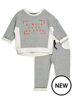 river-island-mini-mini-boys-grey-jumper-joggers-co-ord-outfit