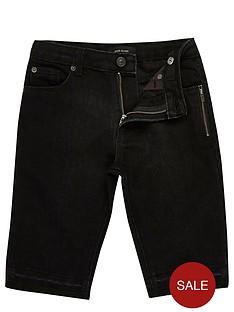river-island-boys-black-raw-hem-denim-shorts