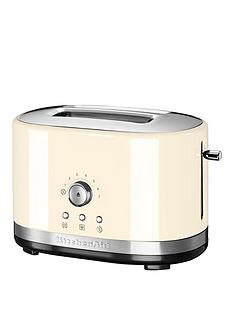 kitchenaid-kitchenaid-5kmt2116bac-2-slot-manual-control-toaster-cream