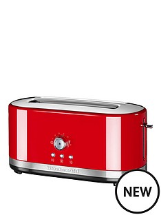 kitchenaid-kitchenaid-5kmt4116ber-long-slot-manual-control-toaster-red