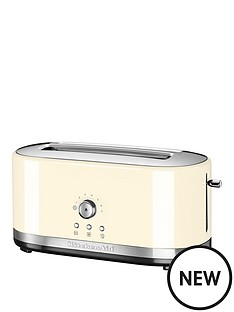 kitchenaid-kitchenaid-5kmt4116bac-long-slot-manual-control-toaster-cream