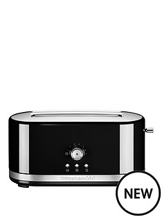 kitchenaid-kitchenaid-5kmt411bob-long-slot-manual-control-toaster-black
