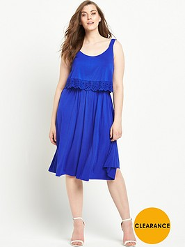 v-by-very-curve-trim-detail-double-layer-jersey-dress-blue