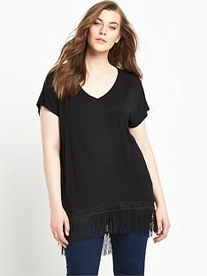 so-fabulous-tassel-curved-hem-jersey-top-black