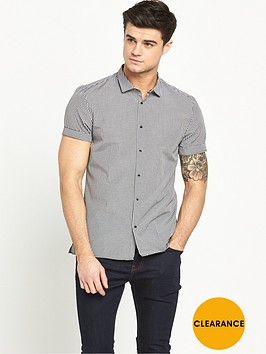 river-island-short-sleeved-gingham-shirt
