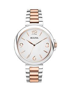 bulova-white-dial-2-tone-rose-gold-stainless-st