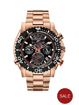 bulova-black-dial-chronograph-rose-gold-stainle