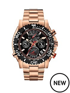bulova-bulova-black-dial-chronograph-rose-gold-stainless-steel-mens-watch