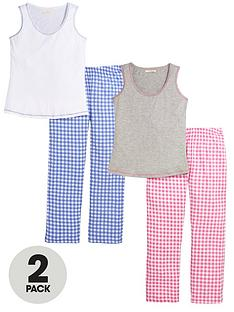 sorbet-two-pack-gingham-pj-setnbsp