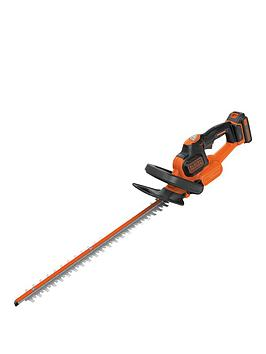 Black & Decker   Gtc18452Pc-Gb 18V Hedgetrimmer With Power Command And Anti Jam