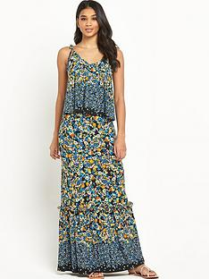 v-by-very-petite-frill-hem-jersey-maxi-dress