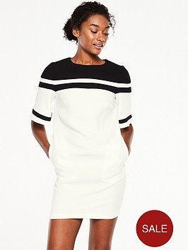v-by-very-fluted-sleeve-stripe-tunic-dress