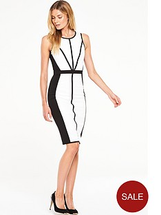 v-by-very-contrast-midi-bodycon-dress