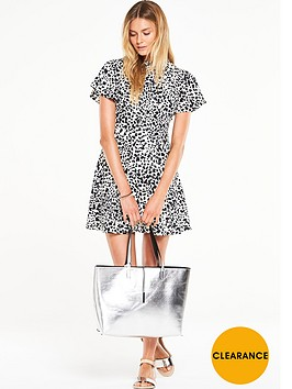 v-by-very-printed-high-neck-fit-and-flare-dress