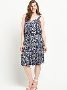 so-fabulous-printed-double-layer-jersey-dress