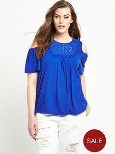 so-fabulous-cold-shoulder-broderie-yolk-jersey-top-blue