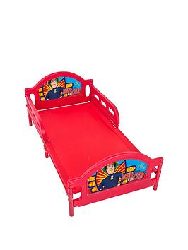 fireman-sam-toddler-bed