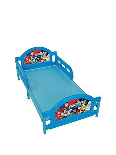 dc-superfriends-toddler-bed