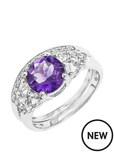 love-gold-9ct-white-gold-amethyst-and-white-topaz-2-piece-ring-set-with-diamonds