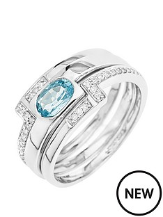 love-gold-9ct-white-gold-blue-topaz-and-15-point-diamond-3-piece-ring-set