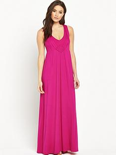 v-by-very-knot-back-detail-plunge-maxi-dressnbsp