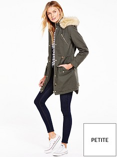 v-by-very-petite-canvas-parka-coat