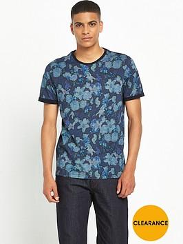ted-baker-floral-printnbspt-shirt