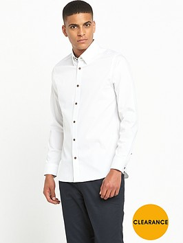 ted-baker-long-sleeve-dobby-shirt