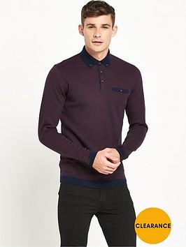 ted-baker-long-sleevenbsppolo-shirt