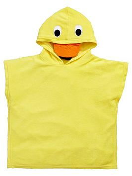 mini-v-by-very-unisex-towelling-duck-swim-poncho