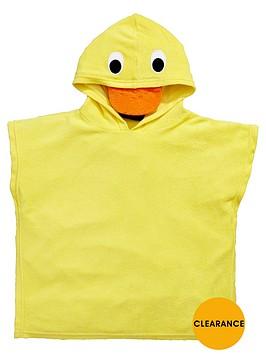 mini-v-by-very-unisex-towelling-duck-swim-poncho
