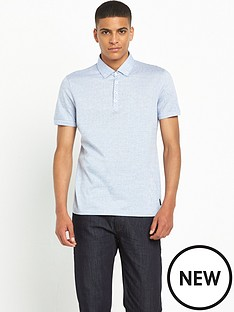 ted-baker-spotted-button-down-collar-polo-shirtnbsp